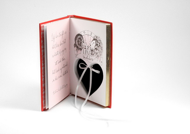 Book Of Love Ring Holder Book Box