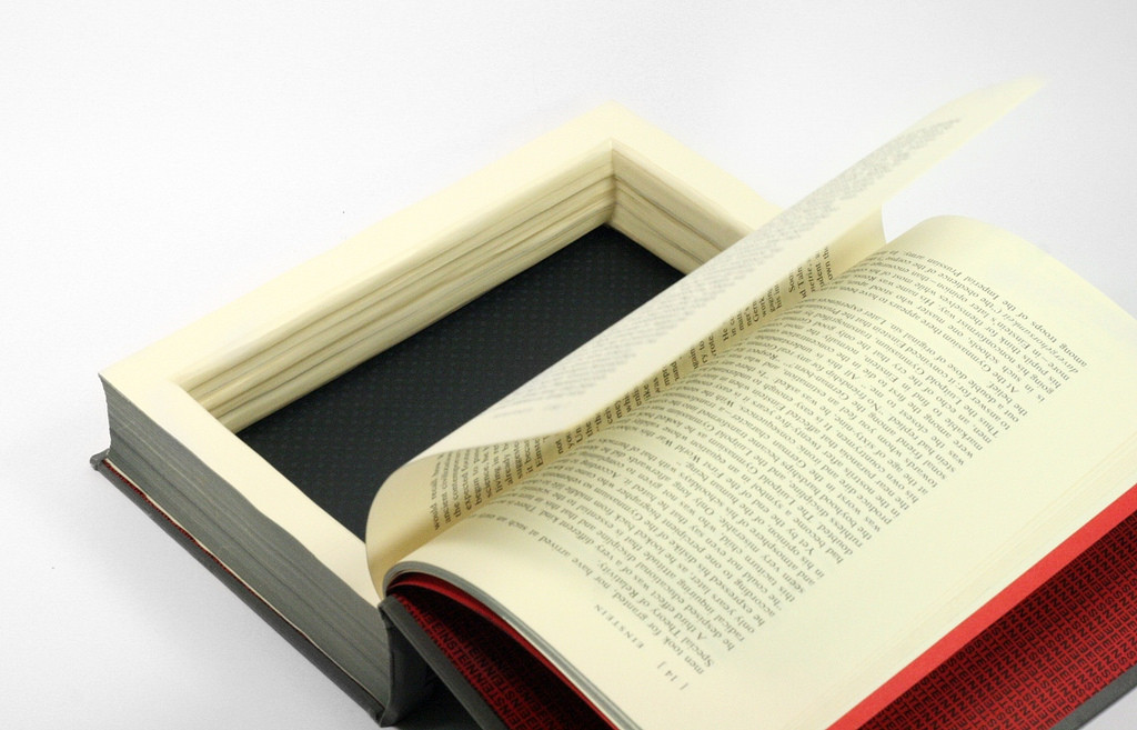 Large Hollow Book Box