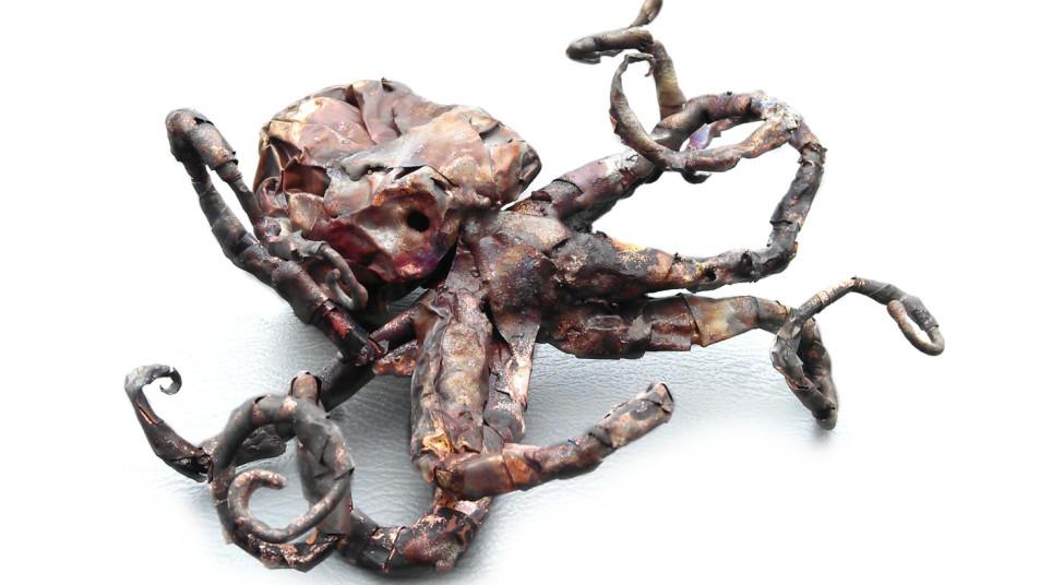 Copper Octopus