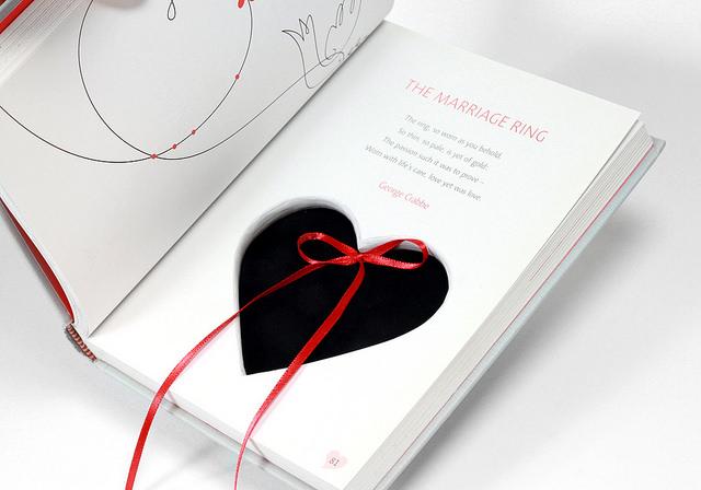 Love Poems Ring Holder Book Box