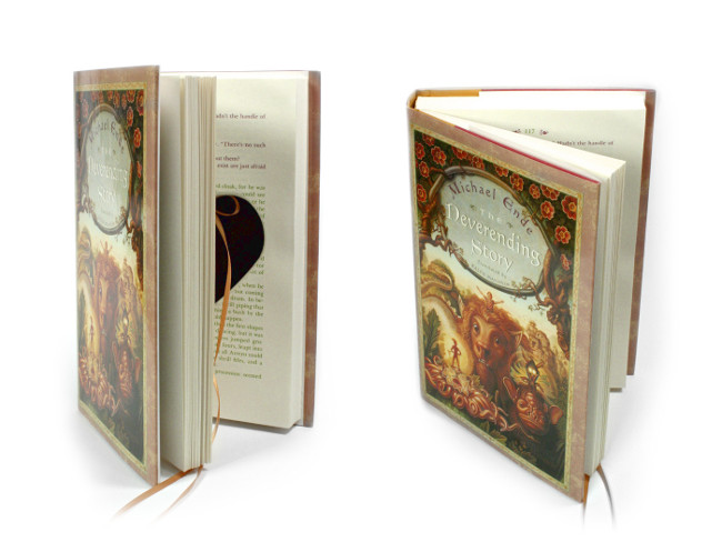 The Neverending Story Ring Pillow Book