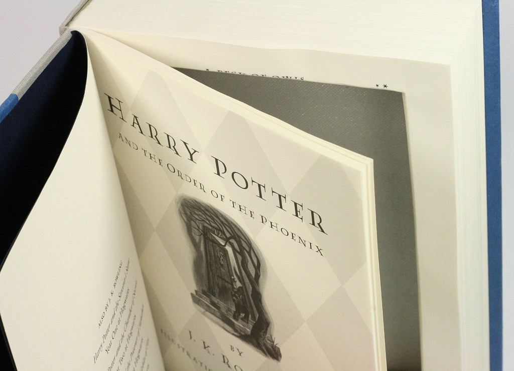 Harry Potter Large Hollow Book Box