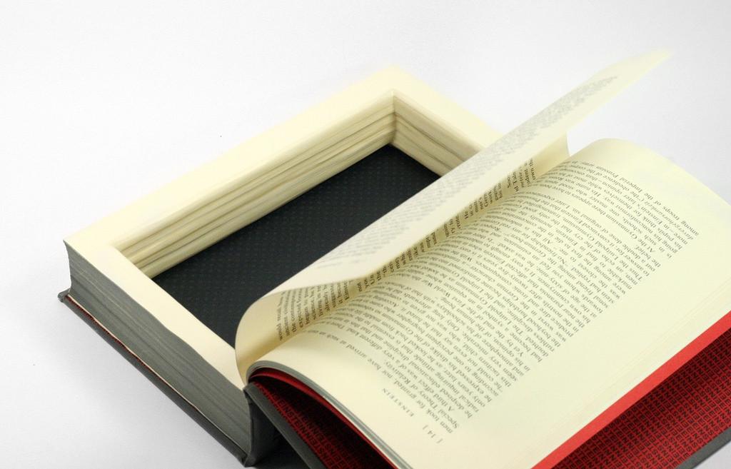Large Hollow Book Box