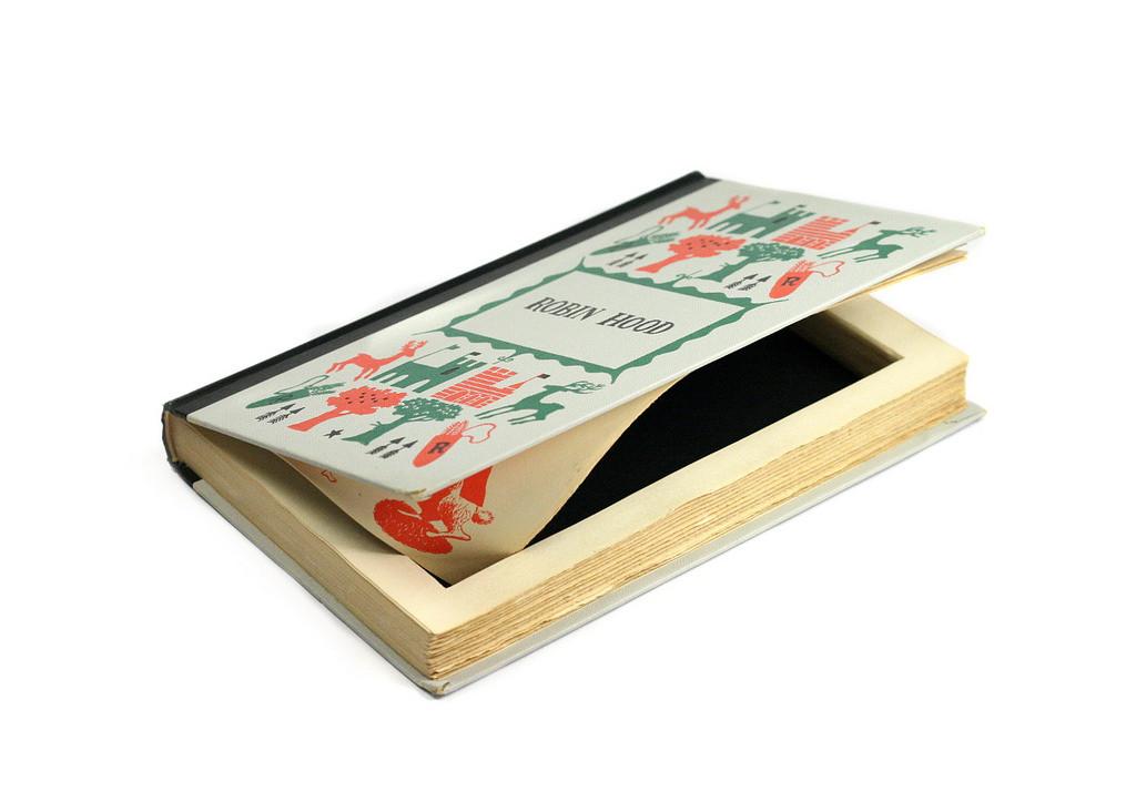 Vintage Robin Hood Hollow Book Box